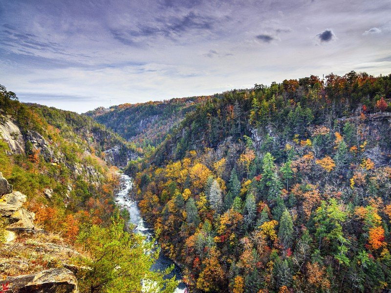 Tallulah Gorge and Falls