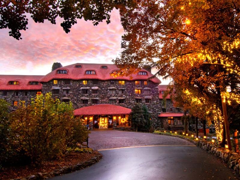 The Omni Grove Park Inn in Asheville