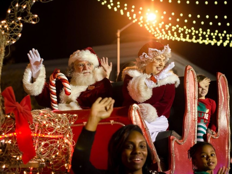 Annual Celebration of Lights Christmas Parade in Albany