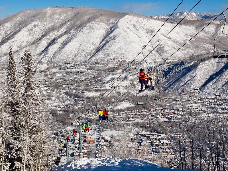 Aspen, Colorado winter