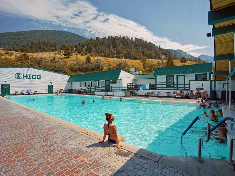 Chico Hot Springs Resort and Day Spa