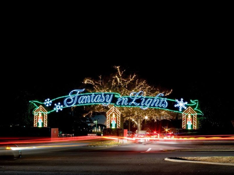 Fantasy in Lights at Callaway Gardens