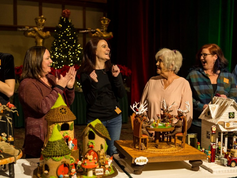 National Gingerbread House Competition in Asheville