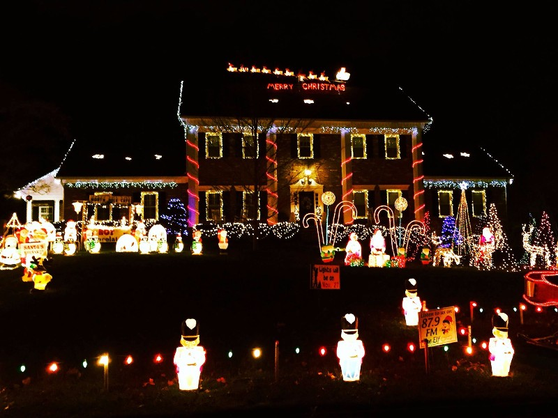 A Whole LOT of Christmas in Stone Mountain