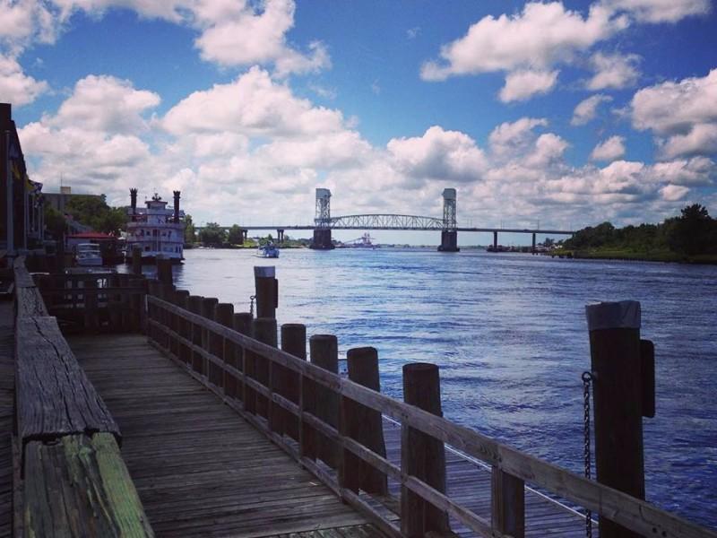 The Riverwalk in Wilmington, NC