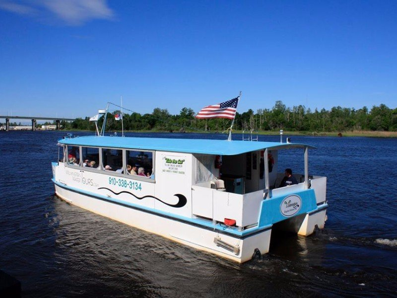 Cruise along the Cape Fear River on a Wilmington Water Tour