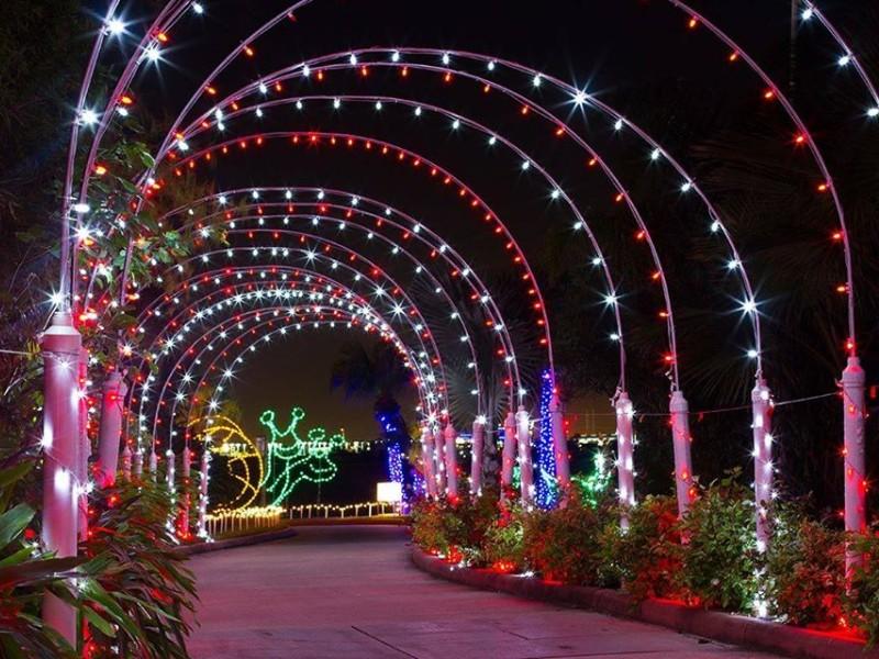 Festival Of Lights At Moody Gardens 2019