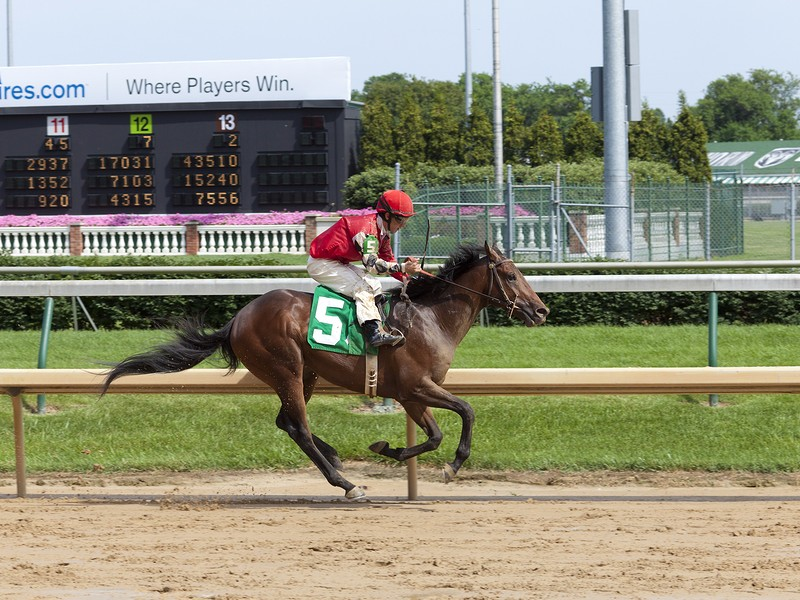 Stephen Foster Day at Churchill Downs horse race track