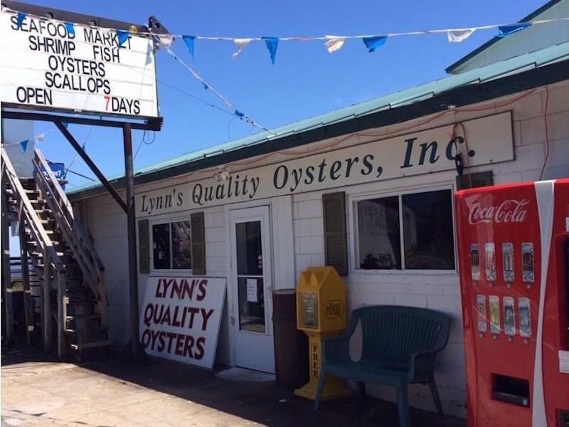 Lynn's Quality Oysters, Eastpoint