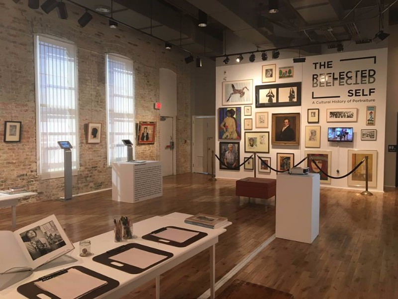 Exhibits in Pensacola Museum of Art