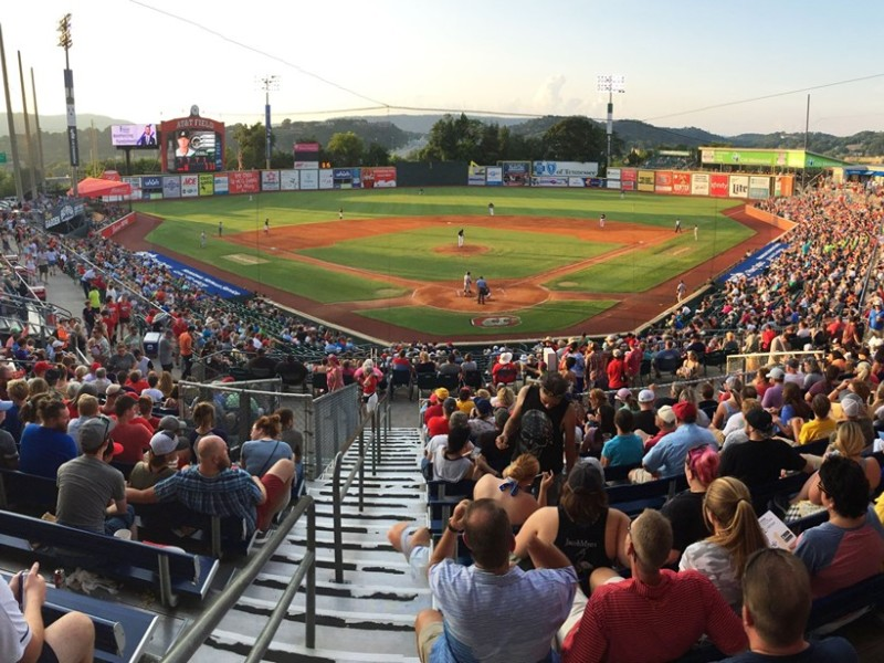 Chattanooga Lookouts at AT&T Field