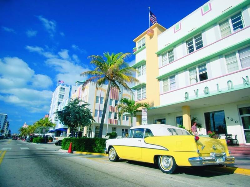 Art Deco buildings in Miami