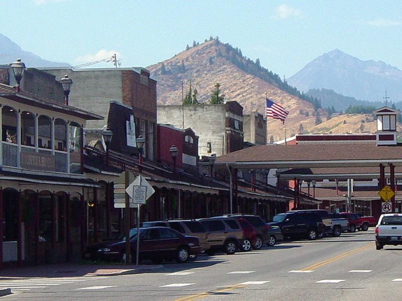 historic downtown Cashmere, Washington