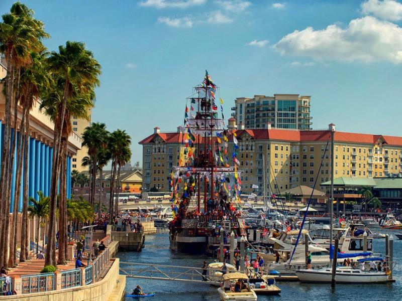 Gasparilla festival in Tampa