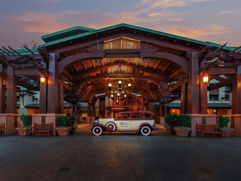 A grand experience from the start at Disney's Grand Californian Hotel and Spa