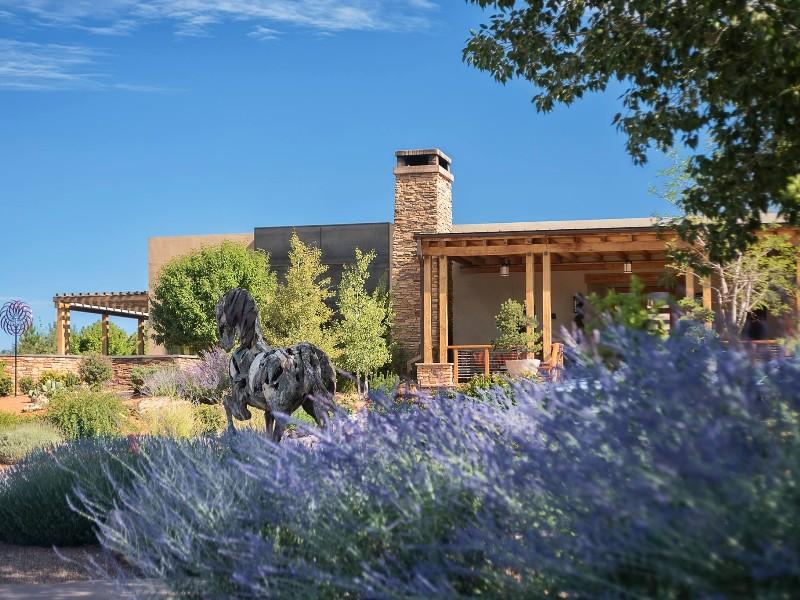 Flowers in bloom at Four Seasons Resort Rancho Encantado Santa Fe