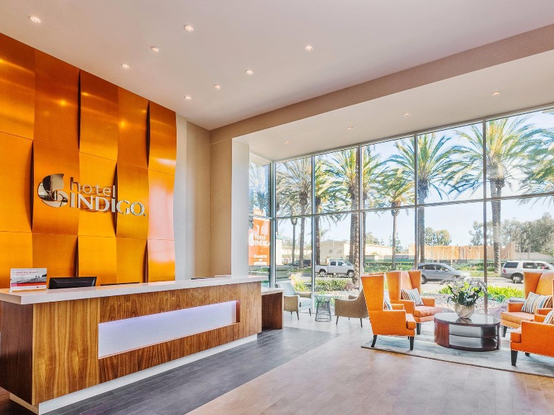 Hotel Indigo Anaheim is one of the top offsite Disneyland hotels
