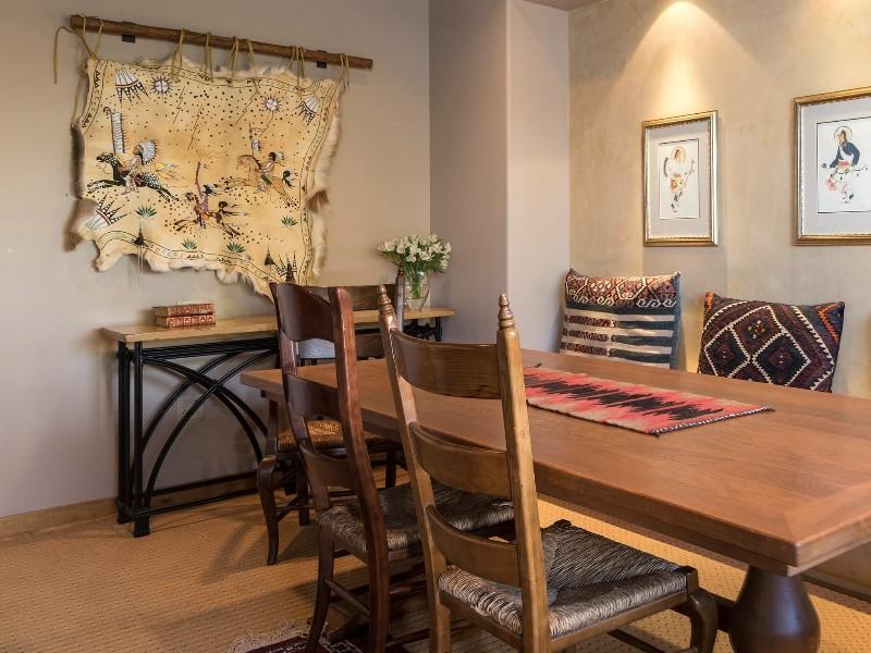 Dining table at Hotel Santa Fe