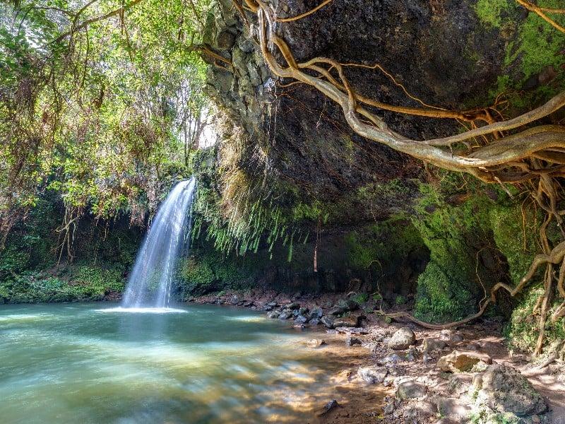 Twin Falls, off the Road to Hana, Maui