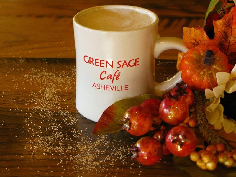 The Green Sage Cafe is a sustainable and environmentally-friendly restaurant.