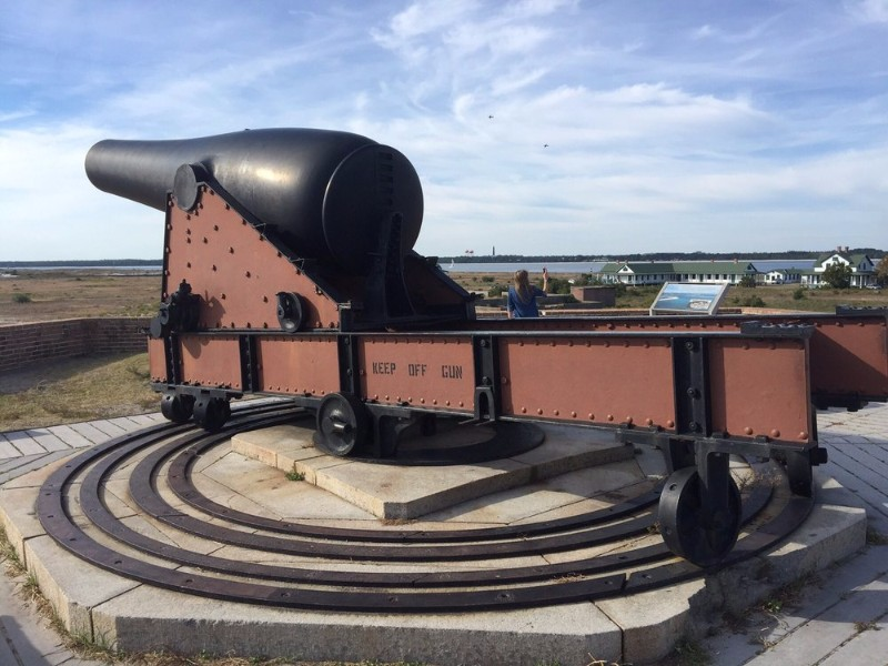 Cannon at Fort Pickens, Pensacola Beach