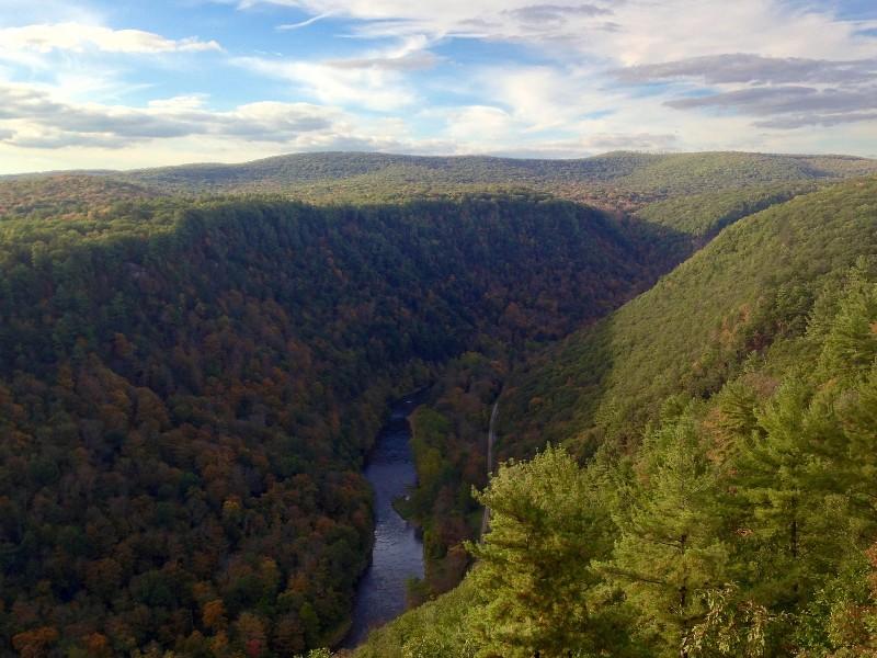 Pennsylvania Grand Canyon, Pine Creek Gorge, Leonard Harrison State Park