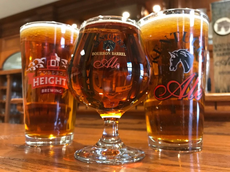 Various styles of Kentucky Ale