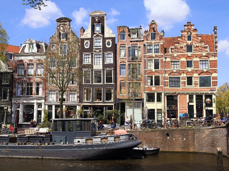 Traditional Architecture in Amsterdam