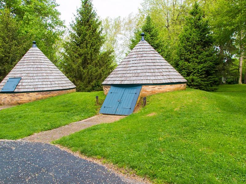 The cellars at Ashland the former home of 19th Century Senator Kentucky statesman Henry Clay.