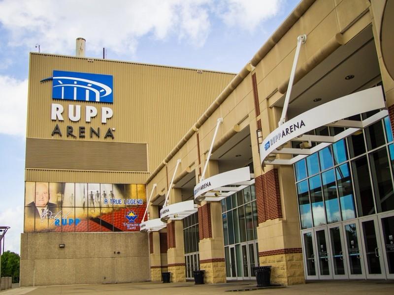 Rupp Arena in Lexington, Kentucky is home court of the beloved University of Kentucky Wildcats Basketball team.