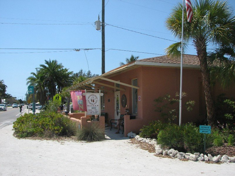 Entrance to Anna Maria Island Historical Museum