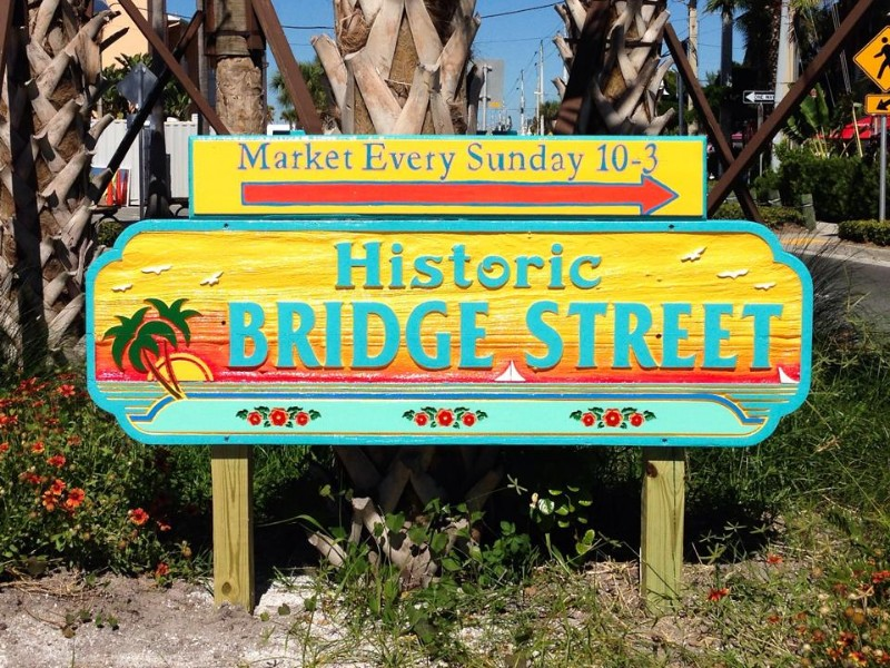 Historic Bridge Street on Anna Maria Island