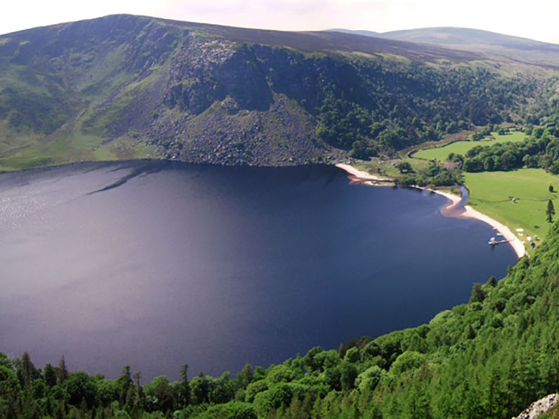Lough Tay, Wicklow National Park, Ireland
