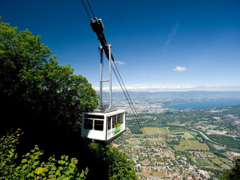 Mont Salève Cable Car Ride