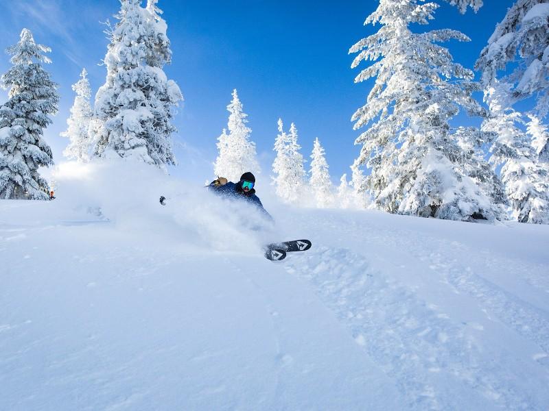 Skiing at Mt. Hood Skibowl