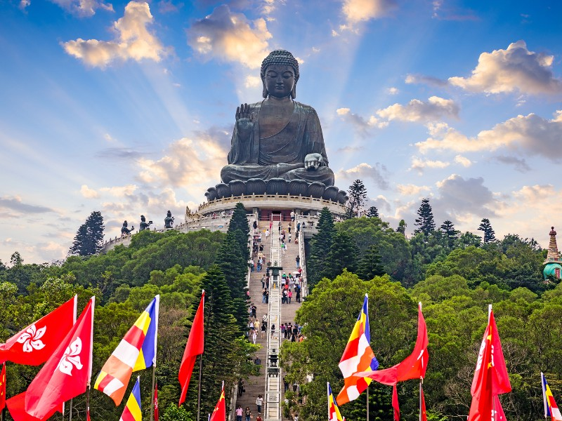 Big Buddha at Lantau Island