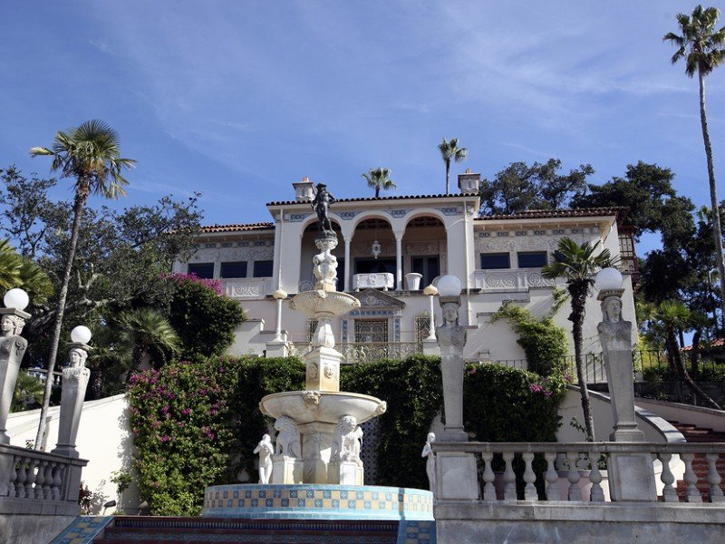 Exterior of Hearst Castle