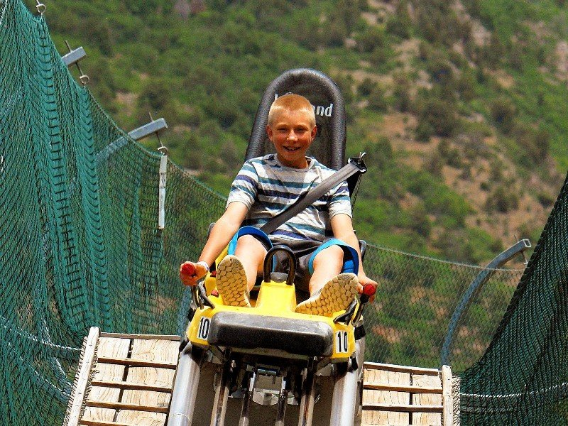 Alpine Coaster at Glenwood Caverns Adventure Park