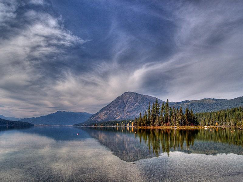 Lake Wenatchee and Dirty Face Mountain, Washington