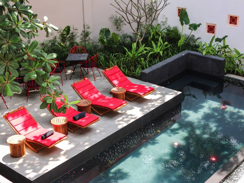 Poolside at The Plantation - Urban Resort & Spa