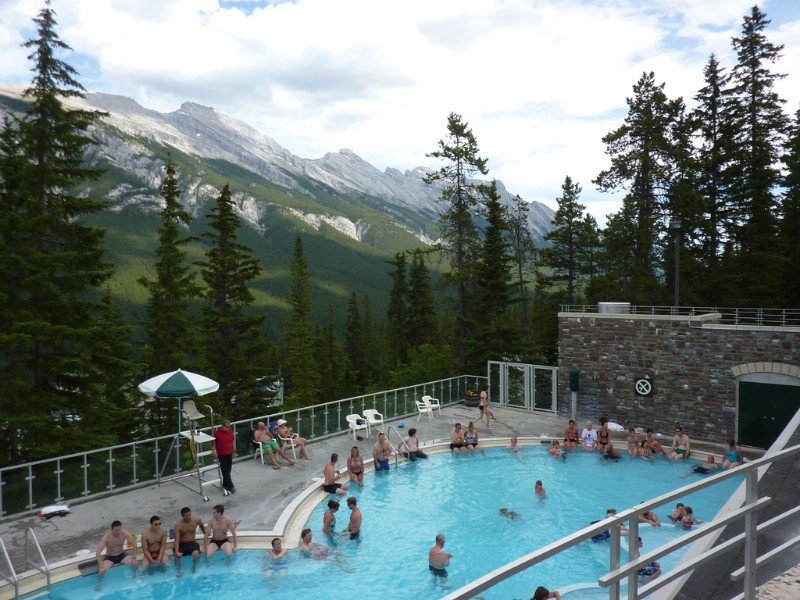 Upper Banff Hot Springs