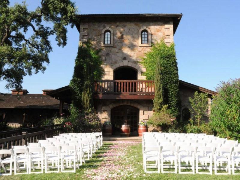 V. Sattui Winery is perfect for wedding season