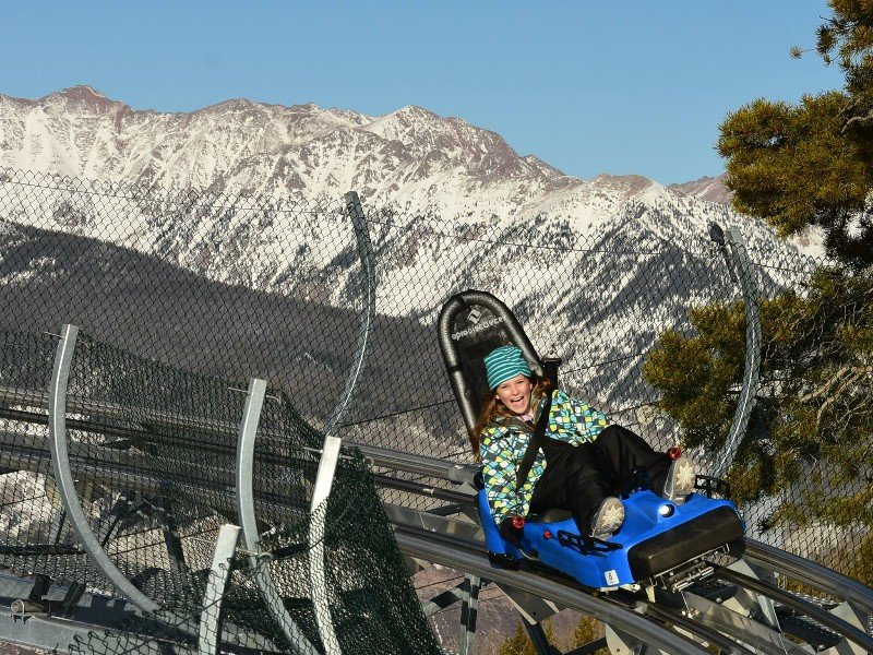 Forest Flyer Mountain Coaster at Vail Ski Resort