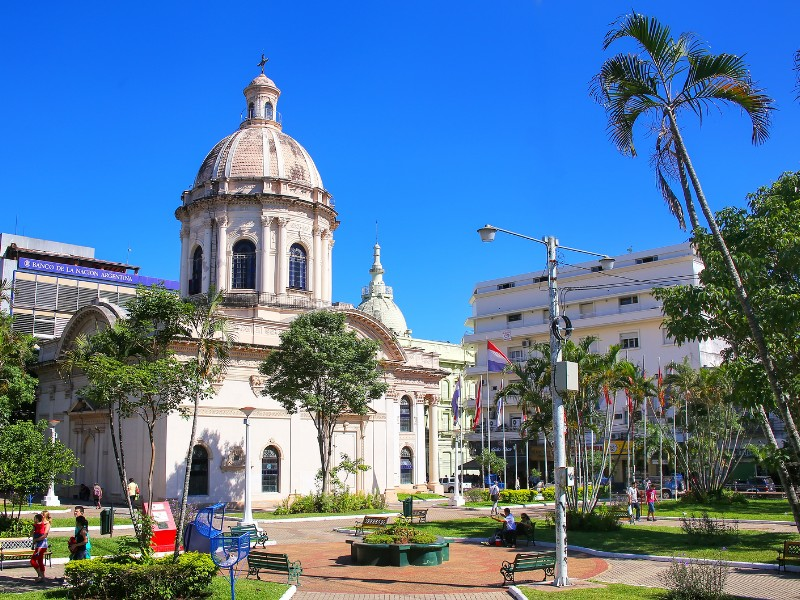 National Pantheon of the Heroes in Asuncion Paraguay