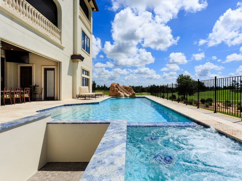 Luxury Villa with Bowling Alley, Four Corners
