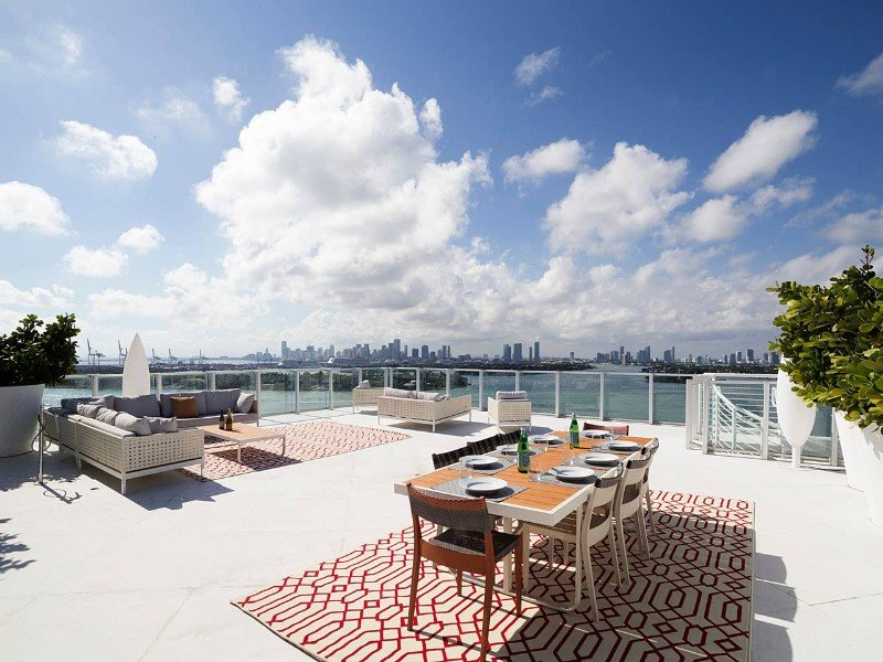 Boss Penthouse at 1100 West Avenue in South Beach - Miami Beach