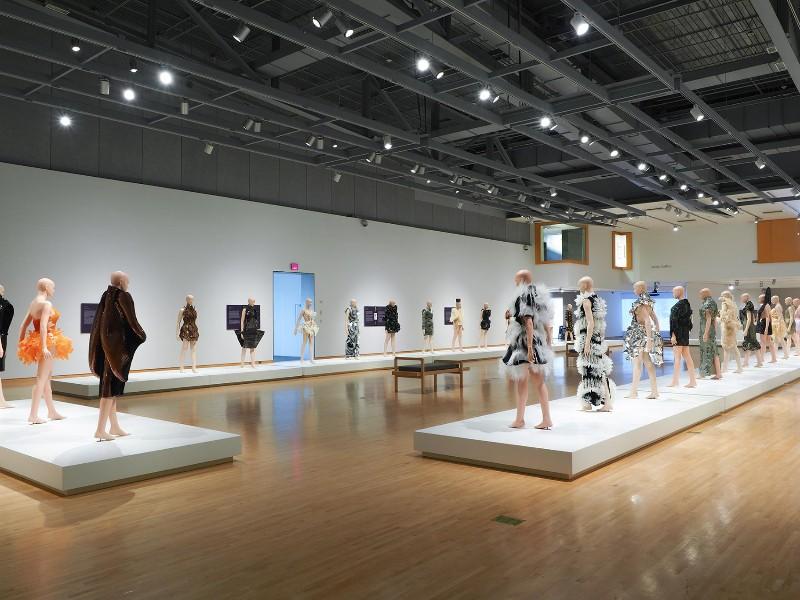 Fashion exhibit at the Phoenix Art Museum