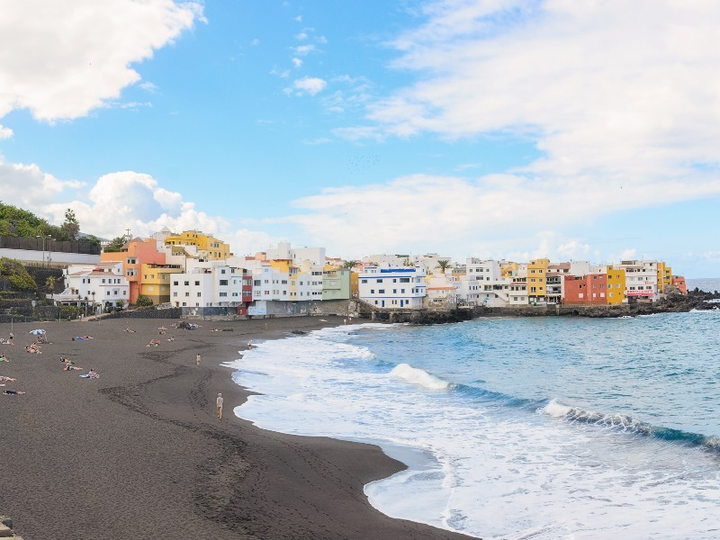 Playa Jardin, Tenerife, Canary Islands