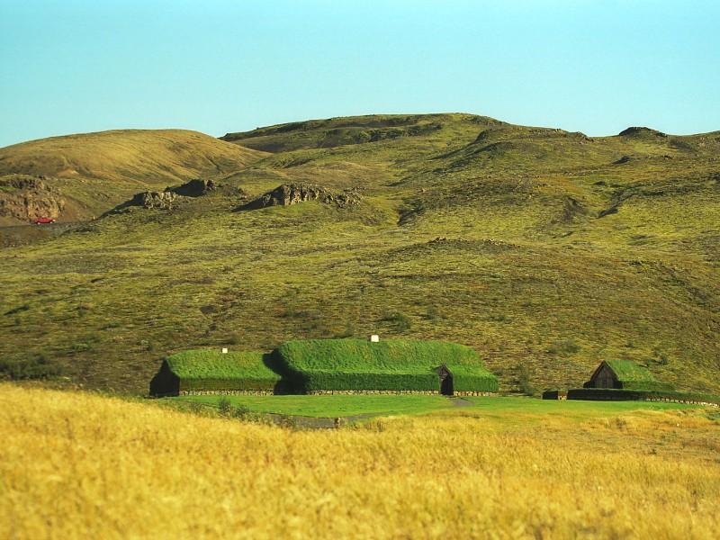 Þjóðveldisbærinn Stöng Viking farmstead, Iceland