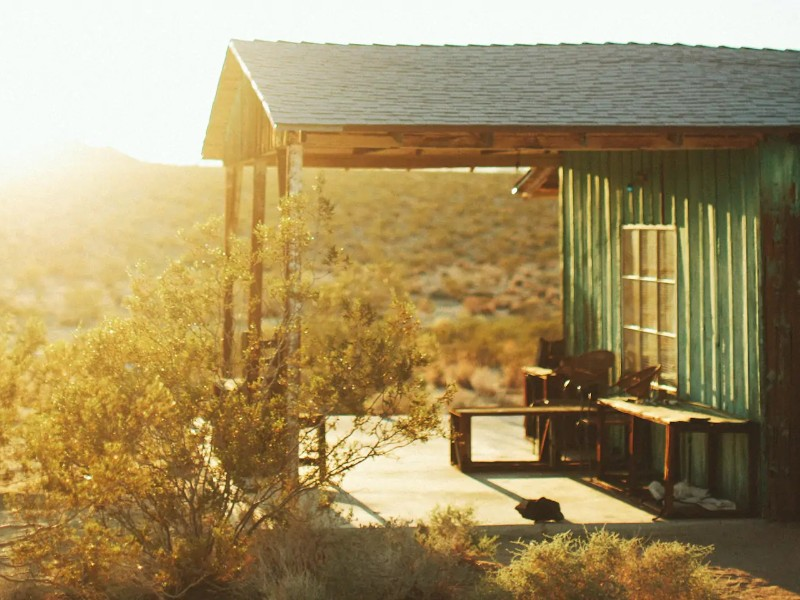 Joshua Tree Homesteader Cabin